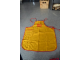 Gear No: apron2  Name: Apron, Yellow Children's with Red Piping and Lego Logo Pattern