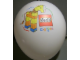 Gear No: balloon1  Name: Display Balloon, Lego and Explore logos and Giraffe picture