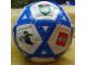 Gear No: bb0080pb02  Name: Ball, Inflatable Soccer Ball, Mini - Blue Triangles Pattern