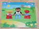 Gear No: bb0860  Name: Photo Frame Duplo Figures