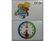 Gear No: bb1056b  Name: Flash Card, Cardboard, Time Teacher 7:30