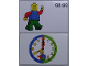 Gear No: bb1057b  Name: Flash Card, Cardboard, Time Teacher 8:00