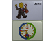 Gear No: bb1059b  Name: Flash Card, Cardboard, Time Teacher 8:45