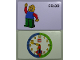 Gear No: bb1060b  Name: Flash Card, Cardboard, Time Teacher 9:30