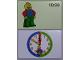 Gear No: bb1062b  Name: Flash Card, Cardboard, Time Teacher 10:00