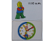 Gear No: bb1064  Name: Flash Card, Cardboard, Time Teacher 11.10 a.m.
