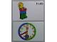 Gear No: bb1065b  Name: Flash Card, Cardboard, Time Teacher 11:40