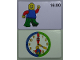 Gear No: bb1073b  Name: Flash Card, Cardboard, Time Teacher 16:00