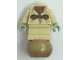 Gear No: bead020c02  Name: Bead, Minifigure Style Assembly with SW Yoda Pattern