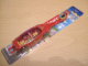 Gear No: brush12  Name: Toothbrush, Jack Stone (Minifigure js001), Red Fire Rescue - Colgate (Danish), no bonus stickers