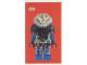 Gear No: cc97lbc1  Name: Collector Card - 1997 Card X-Commander - Lego Builders Club