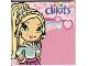Gear No: clikits160  Name: Memo Pad Clikits - Logo, Heart Character, and Hearts