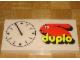 Gear No: clock04  Name: Wall Clock, Duplo Logo