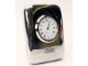 Gear No: clock06  Name: Desk Clock, Silver Plated
