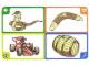Gear No: create100  Name: Creationary Game Card 100 Cobra