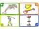 Gear No: create101  Name: Creationary Game Card 101 Dolphin