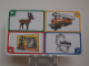 Gear No: create73  Name: Creationary Game Card 73 Reindeer