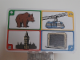 Gear No: create84  Name: Creationary Game Card 84 Bear