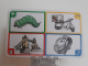 Gear No: create94  Name: Creationary Game Card 94 Caterpillar