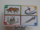 Gear No: create96  Name: Creationary Game Card 96 Tiger