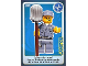 Gear No: ctw003  Name: Create the World Trading Card #003 Janitor