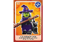 Gear No: ctw006  Name: Create the World Trading Card #006 Wacky Witch