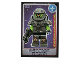 Gear No: ctw012FR  Name: Create the World Trading Card #012 Le Vengeur Extraterrestre (French)