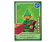 Gear No: ctw018FR  Name: Create the World Trading Card #018 Lutin De Noël (French)