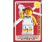 Gear No: ctw021  Name: Create the World Trading Card #021 Tennis Player