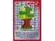 Gear No: ctw022  Name: Create the World Trading Card #022 Create: Tree