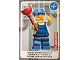 Gear No: ctw023  Name: Create the World Trading Card #023 Plumber