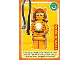 Gear No: ctw026  Name: Create the World Trading Card #026 Tiger Woman