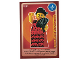 Gear No: ctw032FR  Name: Create the World Trading Card #032 La Danseuse De Flamenco (French)