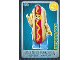 Gear No: ctw039  Name: Create the World Trading Card #039 Hot Dog Man