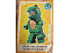 Gear No: ctw040  Name: Create the World Trading Card #040 Lizard Man