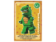 Gear No: ctw042FR  Name: Create the World Trading Card #042 L'Homme-Lézard (French)