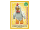 Gear No: ctw046FR  Name: Create the World Trading Card #046 L'Homme Déguisé En Poulet (French)