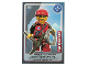 Gear No: ctw048FR  Name: Create the World Trading Card #048 L'Alpiniste (French)