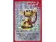 Gear No: ctw049  Name: Create the World Trading Card #049 Create: Monkey