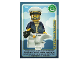 Gear No: ctw056FR  Name: Create the World Trading Card #056 Le Capitaine De Bateau (French)