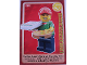 Gear No: ctw060  Name: Create the World Trading Card #060 Pizza Delivery Man