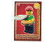 Gear No: ctw062FR  Name: Create the World Trading Card #062 Le Livreur De Pizzas (French)