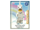 Gear No: ctw064FR  Name: Create the World Trading Card #064 Femme-Licorne (French)