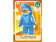 Gear No: ctw076  Name: Create the World Trading Card #076 Shark Suit Guy