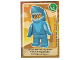 Gear No: ctw078FR  Name: Create the World Trading Card #078 L'Homme-Requin (French)
