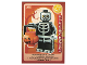Gear No: ctw090FR  Name: Create the World Trading Card #090 L'Homme Squelette (French)