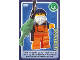 Gear No: ctw102  Name: Create the World Trading Card #102 Fisherman