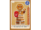 Gear No: ctw105  Name: Create the World Trading Card #105 Gingerbread Man