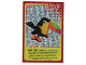 Gear No: ctw105FR  Name: Create the World Trading Card #105 Create: Toucan (French)
