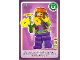 Gear No: ctw108  Name: Create the World Trading Card #108 Hippie